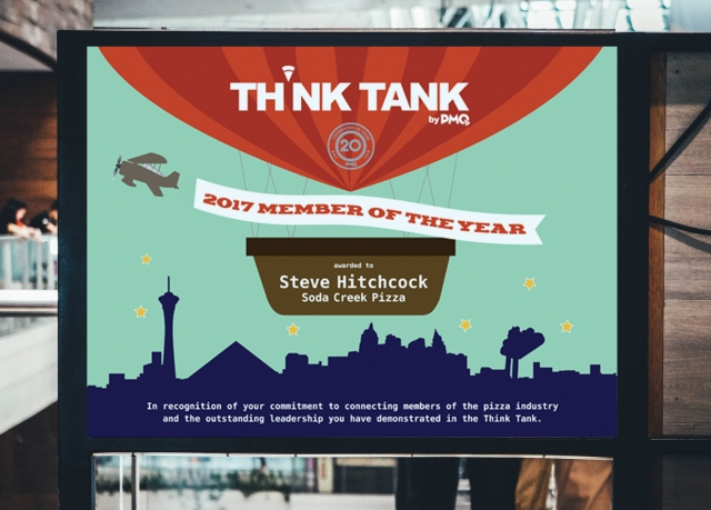 Think Tank member poster