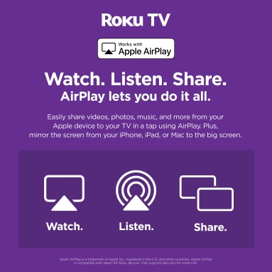 Campaigns for partners: Apple AirPlay